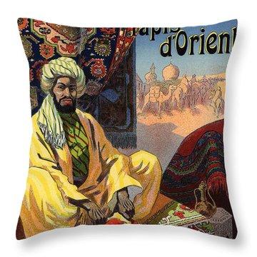 Tapis D'orient Throw Pillow