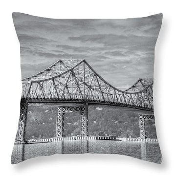 Tappan Zee Bridge Iv Throw Pillow