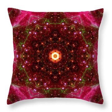 Tarantula Nebula IIi Throw Pillow