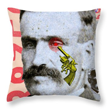 Target Eye Throw Pillow