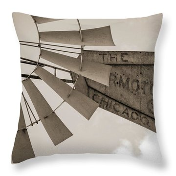 Throw Pillow featuring the photograph Target Practice by Amber Kresge