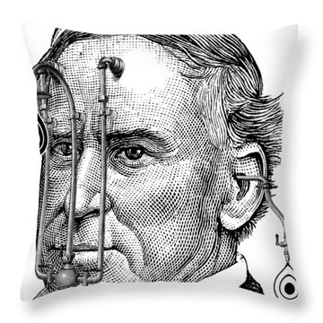 Target Tear Machine Throw Pillow