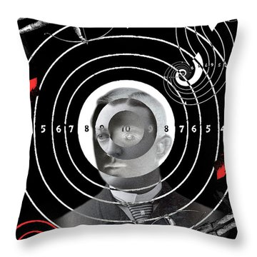 Targeted Victims Throw Pillow
