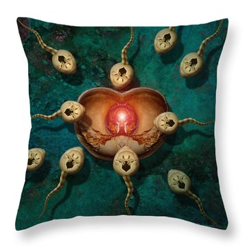 Targeting Throw Pillow by WB Johnston