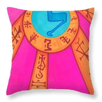 Tarot Card - Eclipse  Throw Pillow
