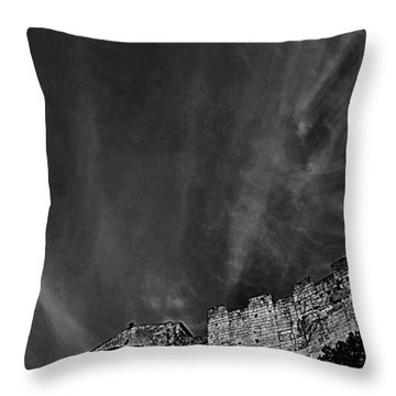 Tarquinia The Walls And The Apse Throw Pillow