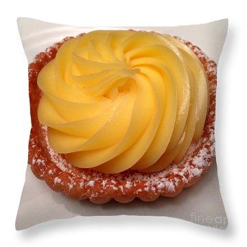 Tarte Citron Dessert Throw Pillow