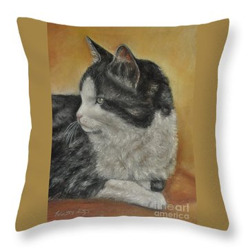 Tasha Throw Pillow by Heather Kertzer