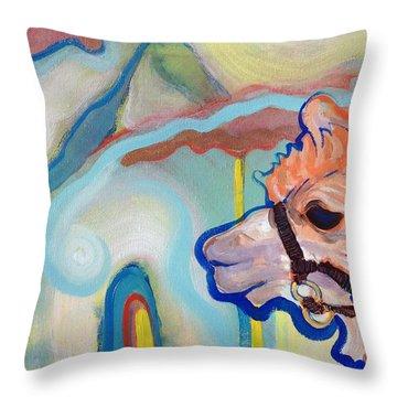 Tasha's World Throw Pillow