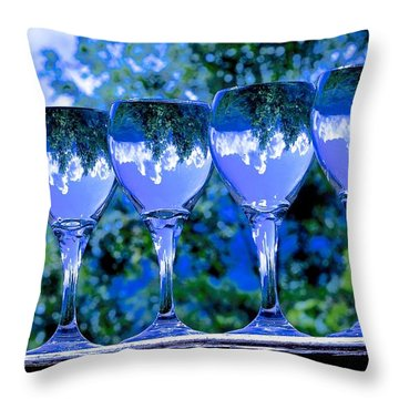 Take A Drink Of Nature Throw Pillow