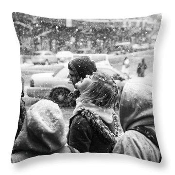 Tasteofsnow Throw Pillow