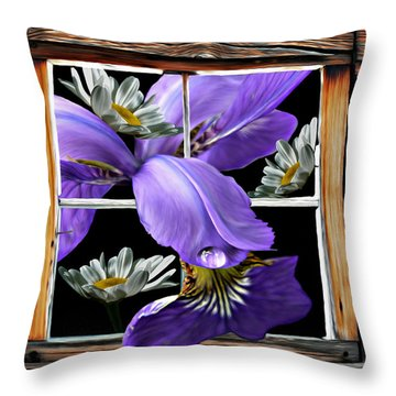 Tasting Spring Rain Throw Pillow
