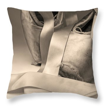 Tattered And Torn Throw Pillow by Don Spenner