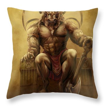 Taurus II Throw Pillow by Rob Carlos