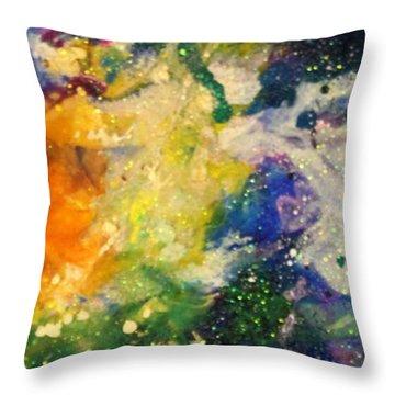 Taurus14 Throw Pillow by Kathleen Fowler