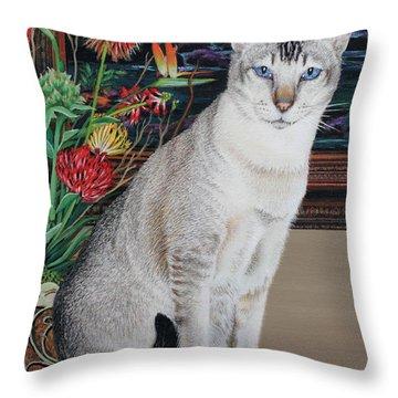 Tava Throw Pillow