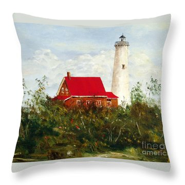Tawas Throw Pillow by Lee Piper
