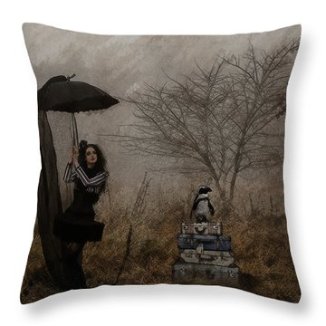 Taxi? Throw Pillow