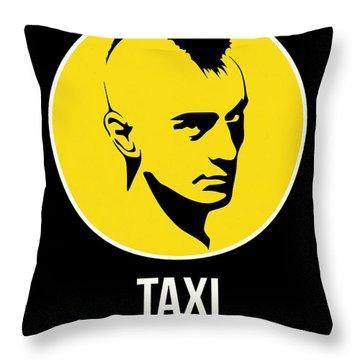 Taxi Poster 2 Throw Pillow