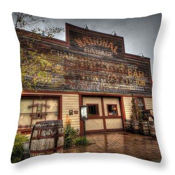 High West Distillery Throw Pillow