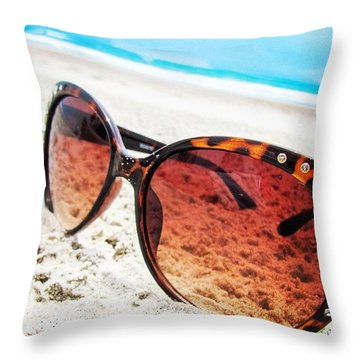 Missing Summer Today Throw Pillow