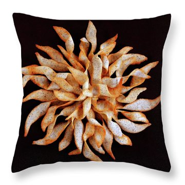 Tea And Honey Cookies Throw Pillow