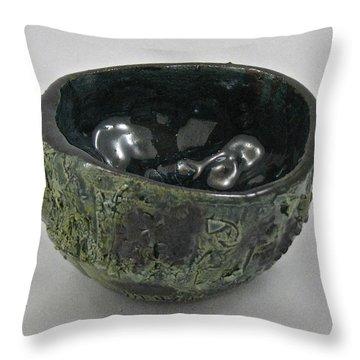 Tea Bowl #5 Throw Pillow