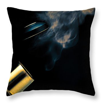 Tea For One Part Two Throw Pillow by Bob Orsillo