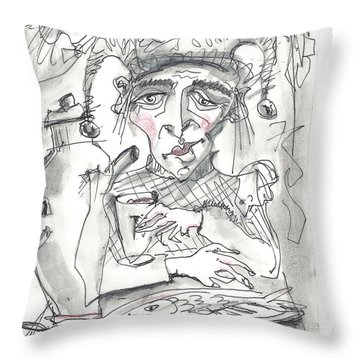 Tea Time 3 Throw Pillow
