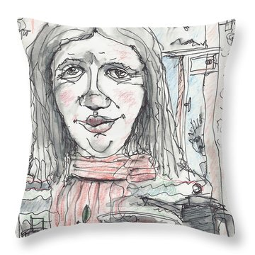 Tea Time 6 Throw Pillow