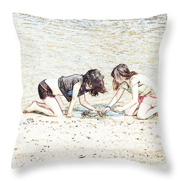 Team Work Throw Pillow