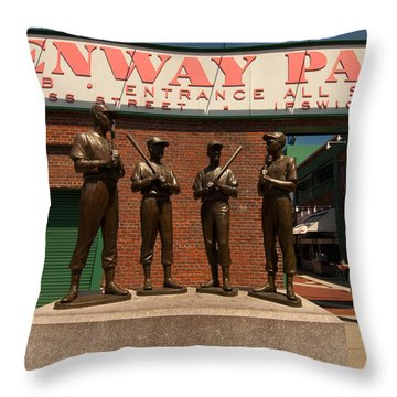 Teammates Throw Pillow by Paul Mangold