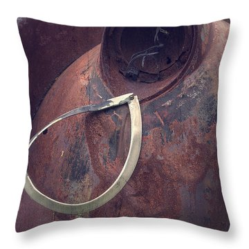 Teardrop At The End Of The Road Throw Pillow by Edward Fielding