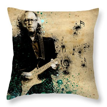 Tears In Heaven Throw Pillow by Bekim Art