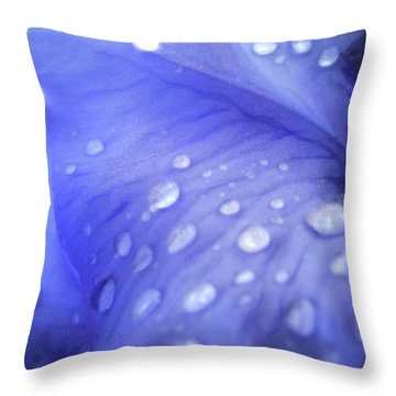 Tears Throw Pillow by Molly McPherson