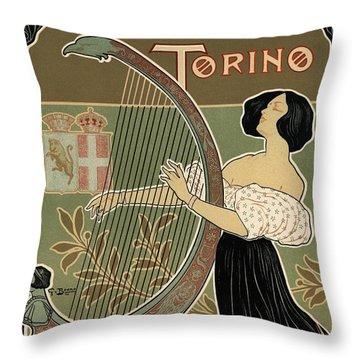 Teatro Regio Torino Throw Pillow