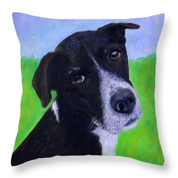 Teddy Throw Pillow