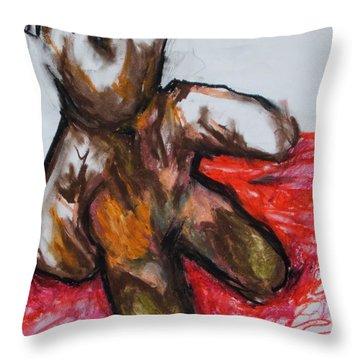 Teddybear Throw Pillow