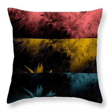 Teenage Riot Throw Pillow by Holley Jacobs