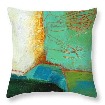 Teeny Tiny Art 110 Throw Pillow by Jane Davies