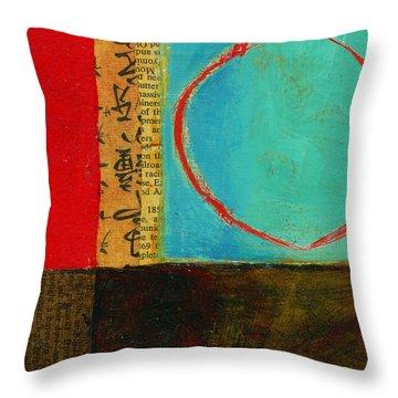 Teeny Tiny Art 113 Throw Pillow by Jane Davies