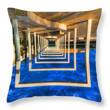Tel Aviv Jump Throw Pillow