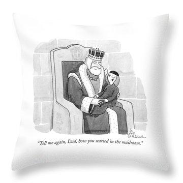 Tell Throw Pillow