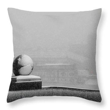Tempest - Featured 3 Throw Pillow by Alexander Senin