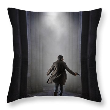 Temple Chase Throw Pillow