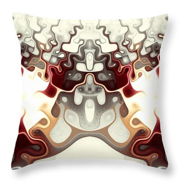 Temple Of Light Throw Pillow by Anastasiya Malakhova