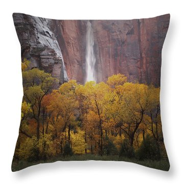 Temple Of Sinewava 1 Throw Pillow