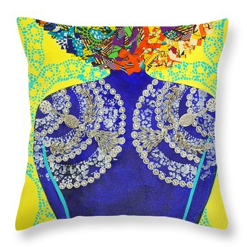 Temple Of The Goddess Eye Vol 3 Throw Pillow