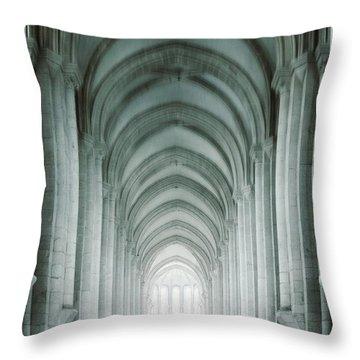 Temple Walker Throw Pillow