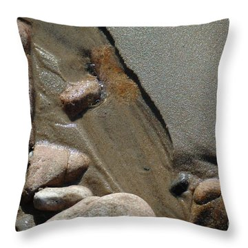 Throw Pillow featuring the photograph Temporary Illusion by Christiane Hellner-OBrien